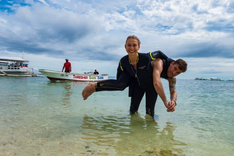 Malapascua Island Rescue diver course