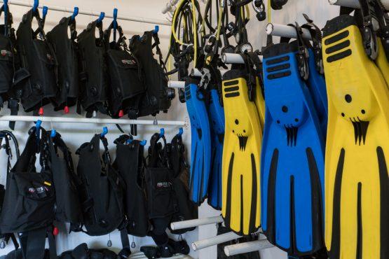 Diving Equipment Malapascua Thresher Shark Divers