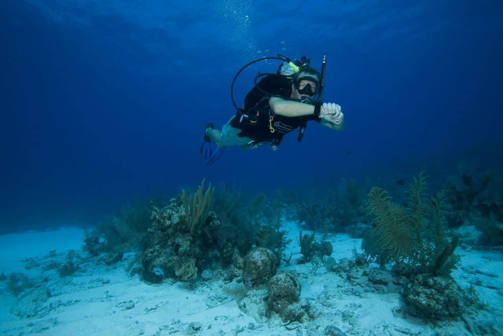 Self Reliant Diver on Malapascua Island