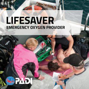 PADI Oxygen Provider Course on Malapascua Island