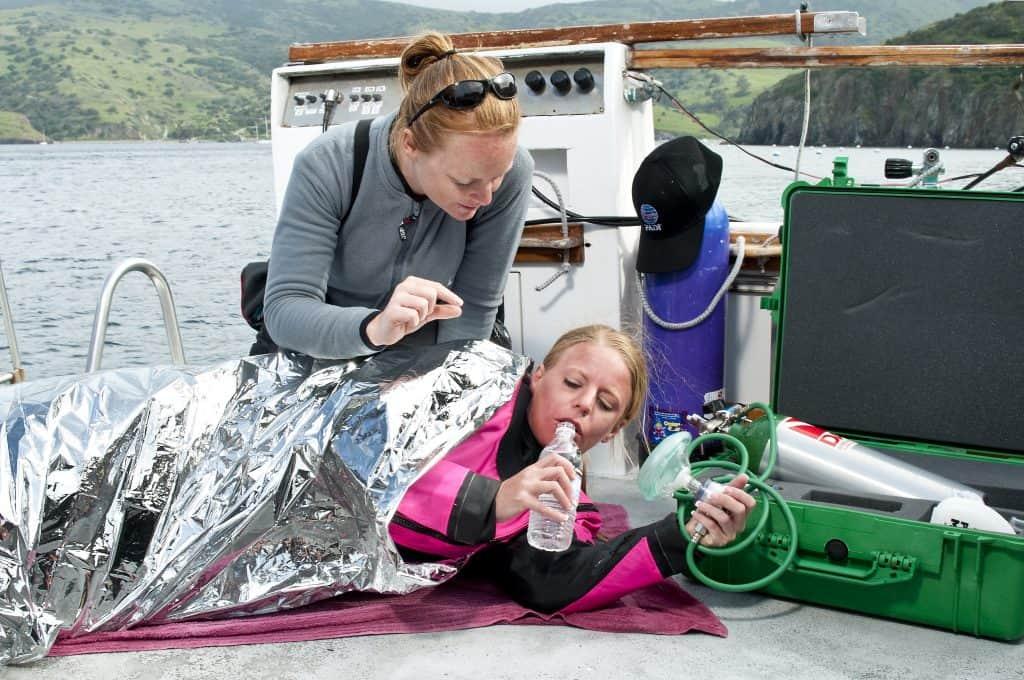 Boat rescue Malapascua Island