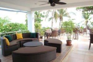 Malapascua Island lounge in Oscar's Restaurant