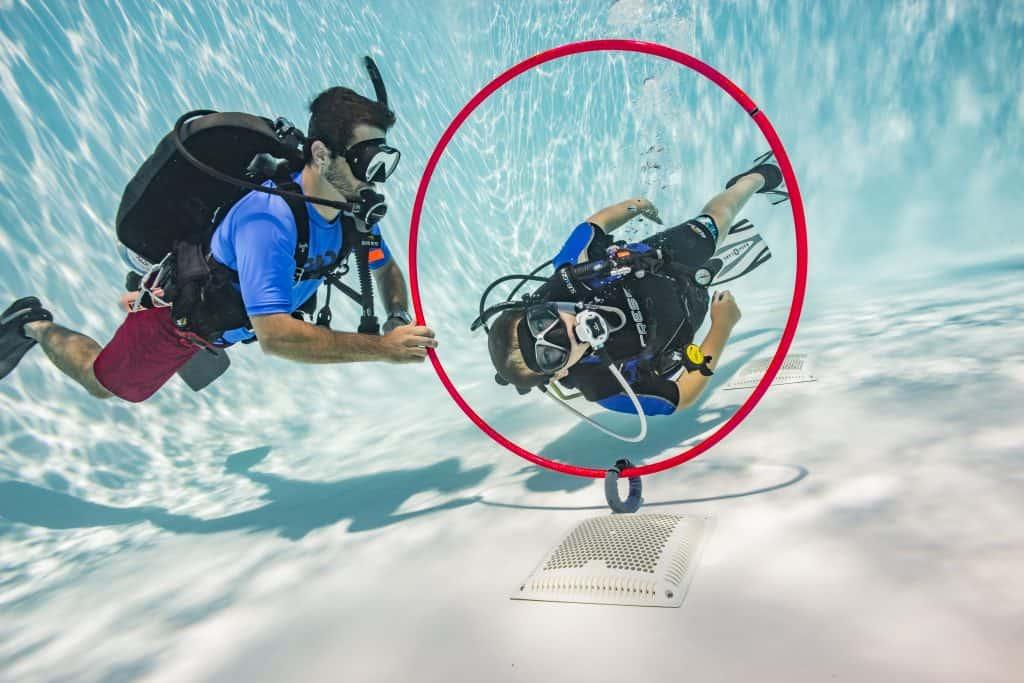 PADI Seal Team Diver on Malapascua Island