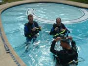 Pool training Malapascua
