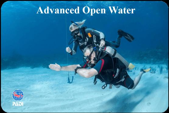 PADI Advanced Diver course Malapascua