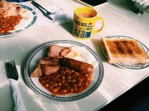 English breakfast Malapacua