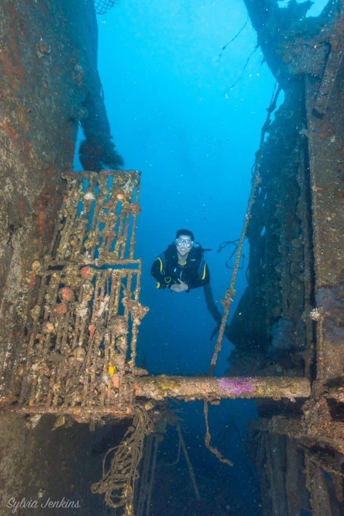 Wreck Diving Malapascua Island