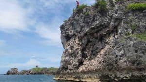 Cliff Jumping on Malapascua