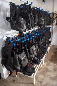 TSD dive equipment